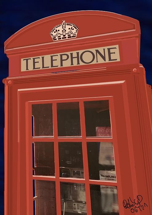 London Telefonzelle