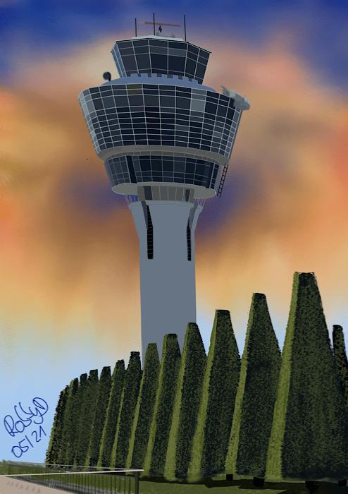 Tower Flughafen München